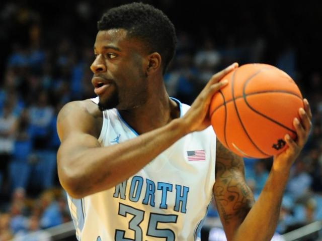 UNC junior Reggie Bullock (35) looks to pass during the North Carolina Tar Heels vs. Miami Hurricanes NCAA basketball game, Thursday, January 10, 2013 in Chapel Hill, NC. <br/>Photographer: Will Bratton
