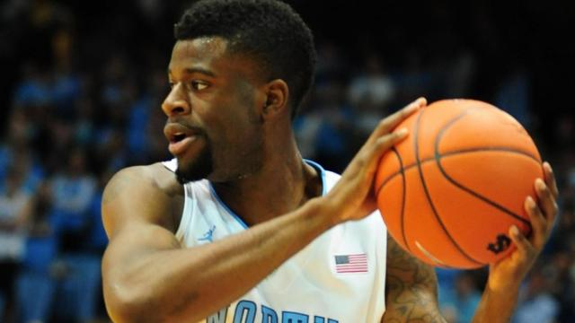 FILE: UNC junior Reggie Bullock (35) looks to pass during the North Carolina Tar Heels vs. Miami Hurricanes NCAA basketball game, Thursday, January 10, 2013 in Chapel Hill, NC.