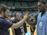Tar Heels fulfill hoop dreams for Special Olympians