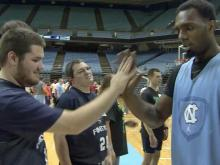 Smith: Tar Heels fulfill hoop dreams for Special Olympians
