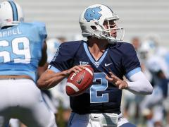 Renner's 3 TDs lead Blue to win in UNC spring game