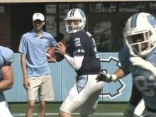 Fialko: Blue beats White in UNC spring game