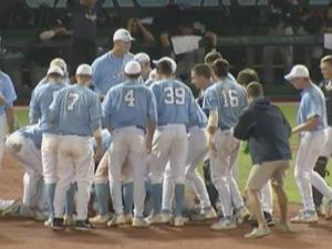 Top seed UNC needs extras to advance