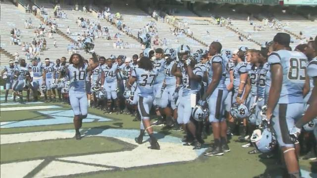 Heels pull away late in win over MTSU