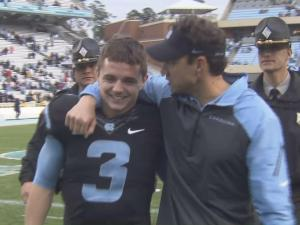 Ryan Switzer and Larry Fedora