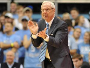 UNC head coach Roy Williams during action at the Dean E. Smith Center between the North Carolina Tar Heels and the Maryland Terrapins on February 4, 2014 in Chapel Hill, NC. UNC won the contest over Maryland 75-63. (Will Bratton/WRAL contributor)