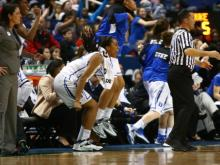 Staring down a three-game sweep at the hands of its fiercest rival, No. 10 Duke was tough enough to fight its way through to the Atlantic Coast Conference tournament championship game.