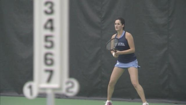 UNC tennis star making name for herself