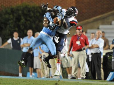 UNC pulls away from Liberty, 56-29