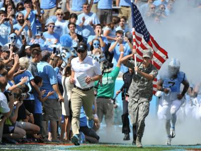 Mistake-prone UNC falls to Virginia Tech, 34-17
