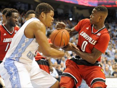 UNC rallies to beat No. 5 Louisville, 72-71