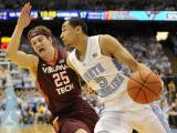 UNC rolls over Virginia Tech, 68-53