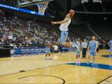 UNC enjoys light practice at NCAA tournament
