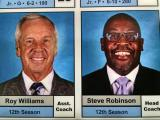 Roy Williams listed as assistant