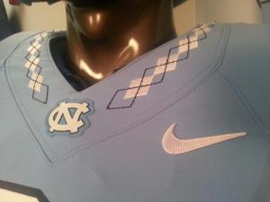 UNC football unveils new uniforms