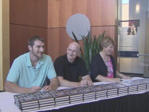 Tyler Zeller and parents