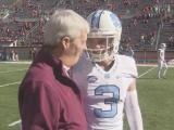Tar Heels top Hokies 30-27 in OT for Coastal crown