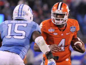 UNC falls to No. 1 Clemson in ACC title game