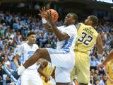 Tar Heels top Georgia Tech 86-78 with late surge
