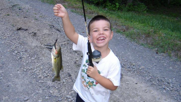 JW's first catch of the year