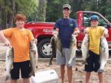 Friends Fishing Kerr Lake