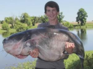 Local fisher sets three records with 117 pound catch