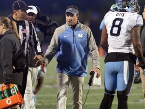 UNC defeats Duke, 45-20