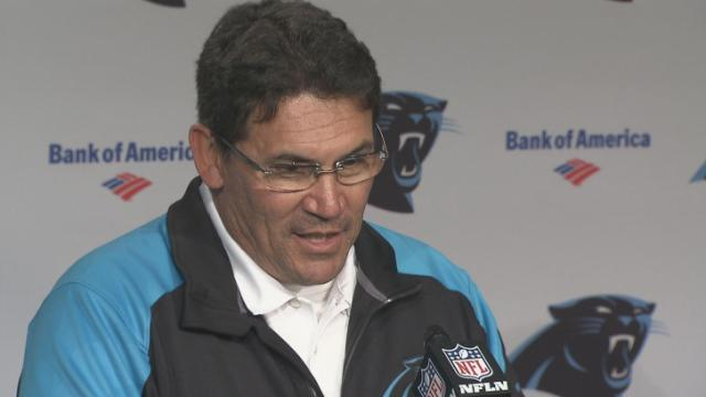 Ron Rivera Post Falcons Pic