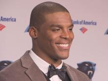The No. 1 pick in the NFL in 2011, Cam Newton carries the hopes of the Carolina Panthers fans.