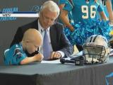 Denver kindergartner sins contract to coach Panthers