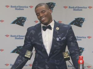 Cam Newton Pic-Post Saints
