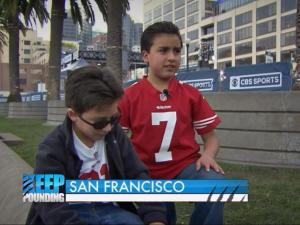 Young fans explain football