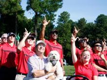 This year marked the 20th year of the Jimmy V. Celebrity Golf Classic and two decades of raising money for cancer research in the late coach's honor.