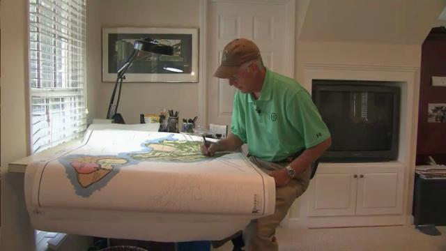 Local golf architect had touch on Prestonwood, around the world