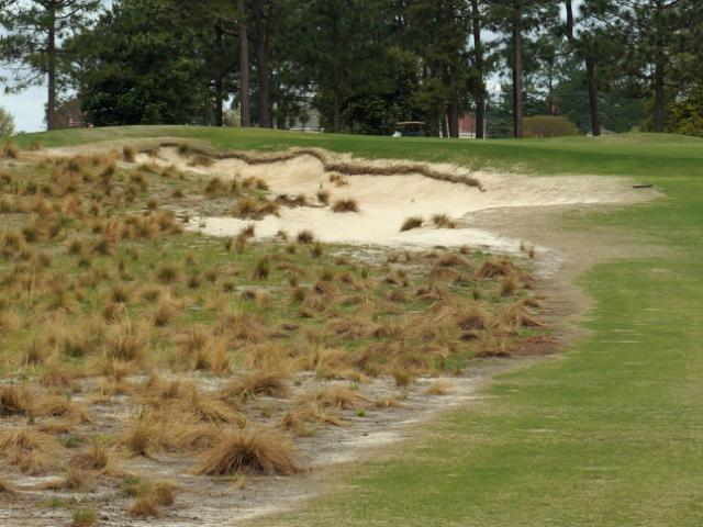 Pinehurst No. 2 has undergone several renovations in preparation for the US Open in June. <br/>Photographer: Erin Summers