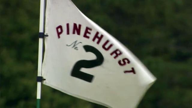 Pinehurst No. 2 golf course