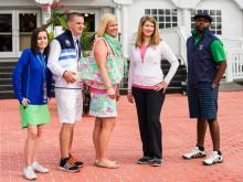 Photos from the U.S. Open fashion show Friday at Pinehurst.