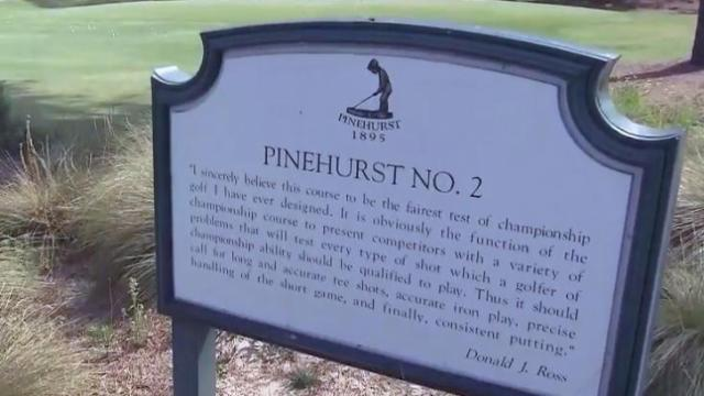 Pinehurst No. 2 social media