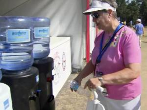With sweltering heat and humidity expected to be a prominent feature of the Women's U.S. Open, officials at Pinehurst No. 2 are employing the same number of medical officials as they did for the men's open to make sure fans stay safe while enjoying another week of golf.