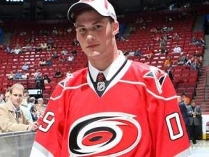 Brian Dumoulin was selected by the Carolina Hurricanes in the second round of the 2009 NHL Entry Draft.