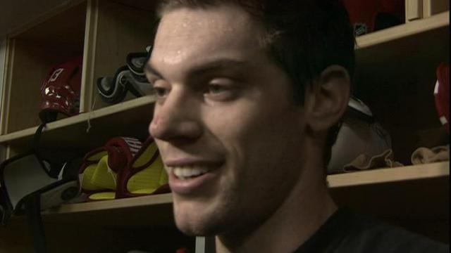 Samson talks about first NHL Goal