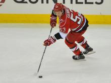 The Carolina Hurricanes lost their home opener 4-1 to Tampa Bay, Tuesday, January 22, 2013 at PNC Arena.