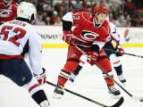 Canes fall to Caps despite Tlusty hat trick