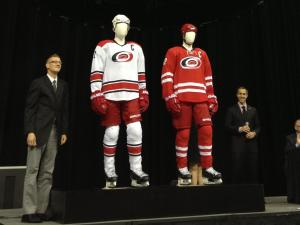 Carolina Hurricanes' new uniforms