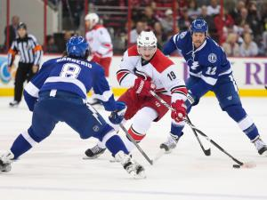 Canes blanked by Bolts, 3-0