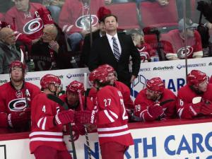 Canes top Blues for 10th win in January