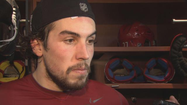 Justin Faulk Pic Post-Montreal