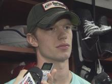 4/15: E. Staal: I want to play in the playoffs