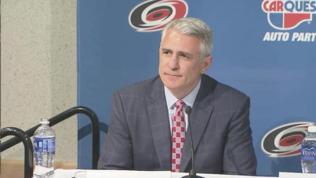Ron Francis and his team will pick seventh in the 2014 NHL Entry Draft