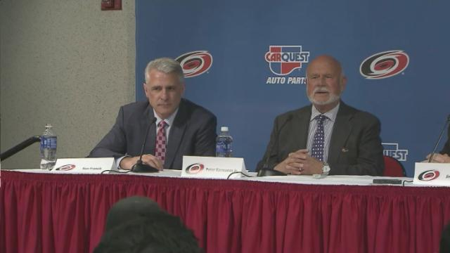 Medlin: Francis takes over as Hurricanes GM